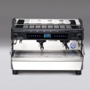 Espressor electronic de cafea, afisaj LCD și ecrane tactile, 2 grupuri