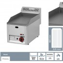 Gratar Fry-top gaz striat 480×320 mm