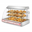 Vitrina calda ventilata pentru produse gastronomice 1200x750x850