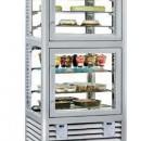 Vitrina frigorifica dubla pentru produse de gelaterie/patiserie, 230+260 Litri