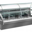 Vitrina patiserie statica cu agregat incorporat +4°C/ +6°C