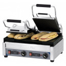Contact grill panini sandwich dublu neted/striat cu temporizator