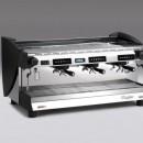 Espressor de cafea automatic cu control electronic , afișaj LCD , 3 grupuri