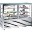 Vitrina frigorifica orizontala gelaterie-patiserie cu 2 usi 264+264 L