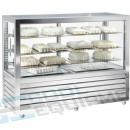 Vitrina frigorifica orizontala ventilata de patiserie ,528 litri.