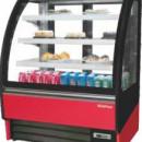 Vitrina frigorifica pentru cofetarie/patiserie AMBAR, 938x810x1300 mm