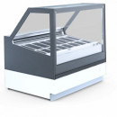 Vitrina frigorifica pentru inghetata CUBE 2 DEEP ICE, 18 cuve