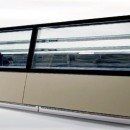 Vitrina frigorifica pentru prezentare inghetata - PREMIUM G9 (1250/1400 mm H)