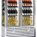Vitrina frigorifica verticala pentru vinuri, 2 usi 848 L