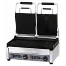 Contact grill panini sandwich dublu1/2 neted- 1/2 striat cu temporizator