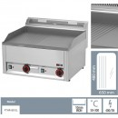 Gratar Fry-top electric neted-striat 480×650 mm