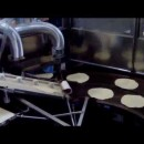 Linie de productie(GAZ) piadina ,lipie ,pita bread capacitate 500 buc/ora
