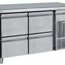 Masa frigorifica  cu 4 sertare de   430x505
