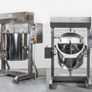 Masina de preparat creme, gemuri , 300 litri , cu robinet de scurgere si viteza variabila