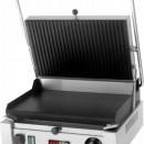 Toaster panini cu mecanism prin apasare pe placi teflon