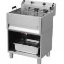 Friteuza electrica 30 litri cu robinet pentru scurgerea uleiului, 400V