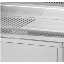 Gratar Fry-top electric cromat neted-striat 480×650 mm