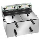 Friteuza profesionala electrica 10+10 litri