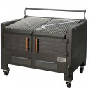 Gratar profesional barbeque pentru steak pe carbuni, 1200x820x930 mm