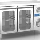 Masa frigorifica ventilata GN 1/1 - 600x400 cu2 usi de sticla
