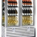 Vitrina frigorifica pentru vinuri , 2 usi, 848 Litri