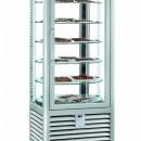 Vitrina frigorifica verticala de prezentare pentru ciocolata cu 1 usa, 427 L