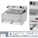 Friteuza electrica profesionala 16 litri 400V de banc