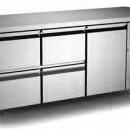 Masa frigorifica cu 1 usa si patru sertare