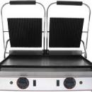 Toaster dublu cu mecanism prin apasare pe placi striate, 565x310mm