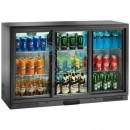 Vitrina frigorifica 280 litri, inaltime 840mm cu 3 usi glisante