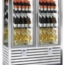Vitrina frigorifica de prezentare pentru vin, 2 usi, 1116 Litri