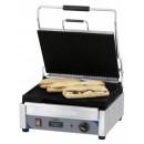 Contact grill panini sandwich striat cu temporizator