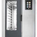 Cuptor cu convectie pentru gastronomie Nexo, 10 tavi GN 1/1 cu BOILER, touch screen