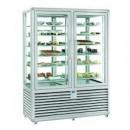 Vitrina frigorifica de prezentare pentru gelaterie/inghetata, statica 2 usi, 1116 Litri