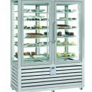 Vitrina frigorifica verticala pentru ciocolata cu 2 usi, 742 L