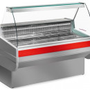 Vitrina rece statica pentru expunere produse de carmangerie si lactate 0,98 m²