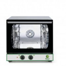 Cuptor de patiserie electromecanic cu convectie , 4 tavi 450 x340mm ( incluse)