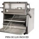 Cuptor pentru steak pe carbuni,deschidere verticala, Pira 90 LUX ED