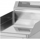 Gratar Fry-top electric cromat neted 480×650 mm