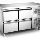 Masa frigorifica ventilata cu 4 sertare