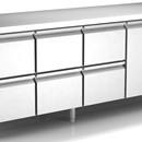 Masa rece congelare ventilata cu o usa si 3 sertare
