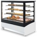 Vitrina frigorifica pentru cofetarie/patiserie, 700x850x1100 mm