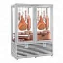 Vitrina frigorifica verticala pentru expunere mezeluri, 2 usi 848 L