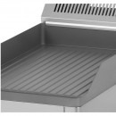 Gratar Fry-top electric striat 480×320 mm