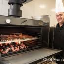 Cuptor pentru steak pe carbuni, Pira 120 Inox