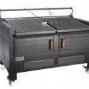 Gratar profesional barbeque pentru steak pe carbuni, 1455X820X930 mm