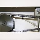 Malaxor cu spirala,cap rabatabil si cuva detasabila ,33 L ,25 kg, 2 viteze