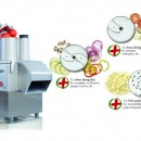 ROBOT TAIAT LEGUME PROFESIONAL CL50 ULTRA PIZZA + 3 DISCURI