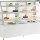 Vitrina frigorifica pentru cofetarie/patiserie, 1825x680x1410h mm
