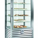 Vitrina frigorifica verticala ventilata de patiserie , 1 usa,  427 litri